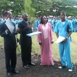 SBH Officials and the High school Principal