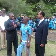 SBH sponsors a disabled student in high School of loum